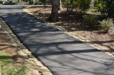 5 Driveway Edging Designs Xlasphalt Asphalt Driveways