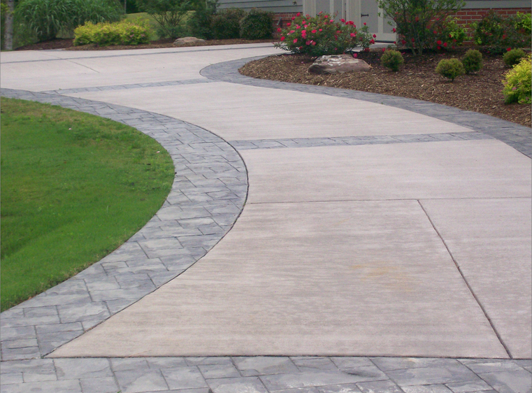 Driveway designs to complement your home xlasphalt Simple paving ideas
