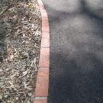 End To End Edging leads to cheaper asphalt driveway cost